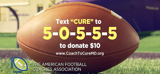 Text CURE to 50555 to donate $10