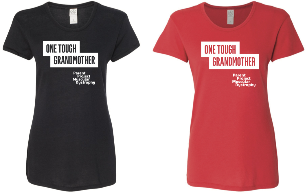 One Tough Grandmother Crew Tshirt